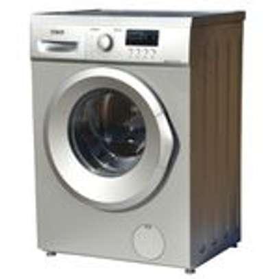 Mika MWAFS3107SL, Washing Machine, Fully-Automatic, 7Kgs - Silver image 1