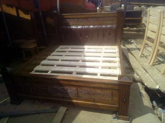Wooden Bed(Queen size). image 2
