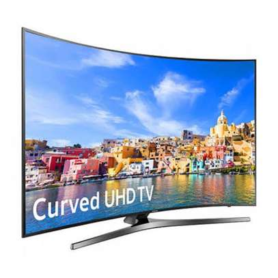 Samsung curved 49 inch digital smart TV 4K image 1