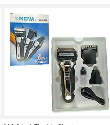 3 in 1 shaver image 1