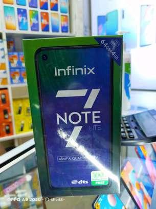 New infinix note 7 image 1