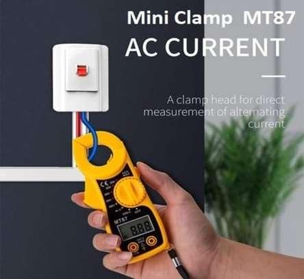 DIGITAL CLAMP MULTIMETER MT87 AUTO RANGE image 1