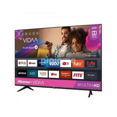 Hisence 55 inch smart frameless UHD Tvs image 1