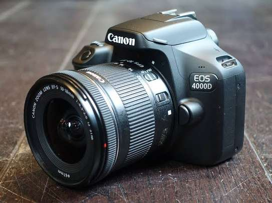 CANON 4000D WITH 18-55MM LENS image 1