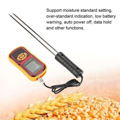 GM640 Portable Digital Backlit Grain Moisture Meter for Multiple Grains image 1