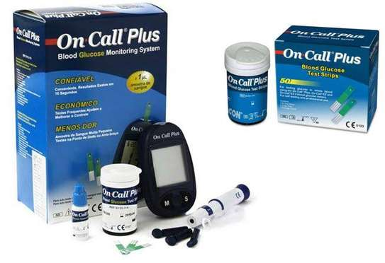 On call plus Glucometer image 4