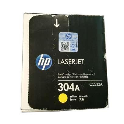 304A yellow only CC531A printer HP Color LaserJet CM2320nf MultifunctionHP Color LaserJet CM2320n MultifunctionHP Color LaserJet CM2320fxi MultifunctionHP Color LaserJet CP2025x image 1