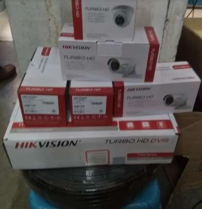 Two  CCTV camera 720p Complete cameras sale only image 1