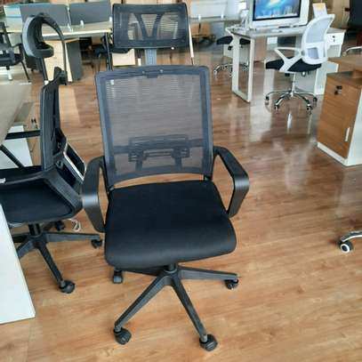 Mesh-High Back Desk Chair image 1