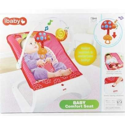 Ibaby Baby Comfort Bouncer Rocker With soothing music and toys-multicolor