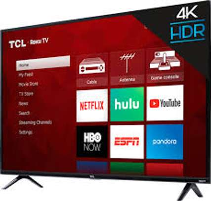 """TCL 55"""" ANDROID TV,WI-FI,ALEXA VOICE CONTROL,NETFLIX,YOUTUBE,GOOGLE PLAY,DOLBY VISION-55C815-BLACK image 1"""