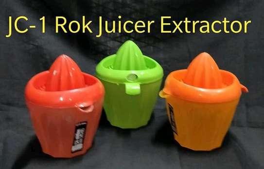 Rok plastic juice extractor