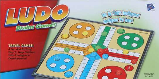 Family Kids Magnetic Ludo Board Games image 3