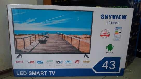 """Skyview 43"""" smart android frameless full hd tv image 1"""