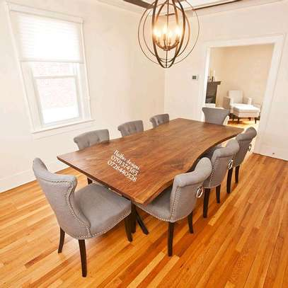 Eight seater dining set/dining table/dining set/dining chairs for sale