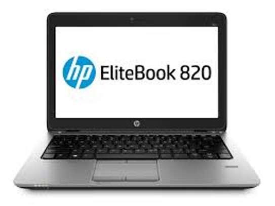 Hp Elitebook 820 G2 Laptop Intel Core i5 5200U 2.3 GHz 4GB 500GB 12.5 inch Screen EXUK image 2