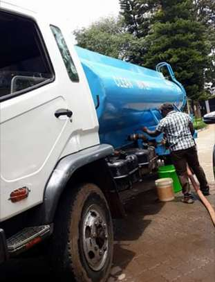 supply of clean fresh water