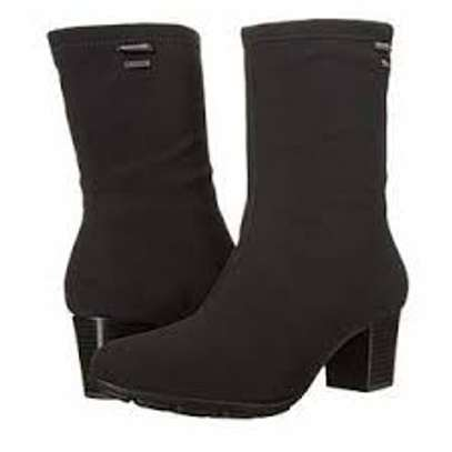 Laced Heel Boots image 1