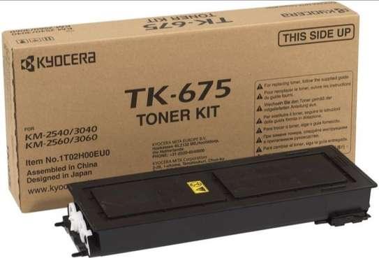 Black Kyocera TK-675 Toner Cartridge(TK675) image 2