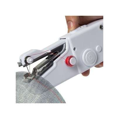 Handy Stitch Portable And Convenient Hand Held Electric Sewing Machine image 1
