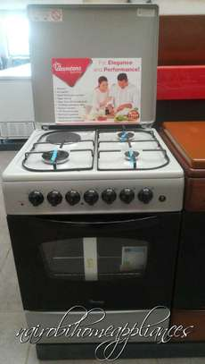 Ramtons 3G + 1E, Silver Cooker (60x60cm) image 1