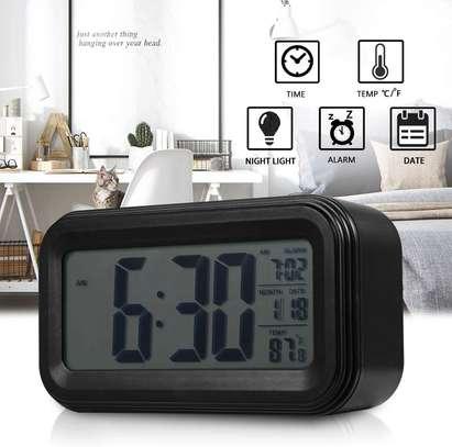 LED Digital Backlit Alarm Clock WithThermometre And Calender image 3