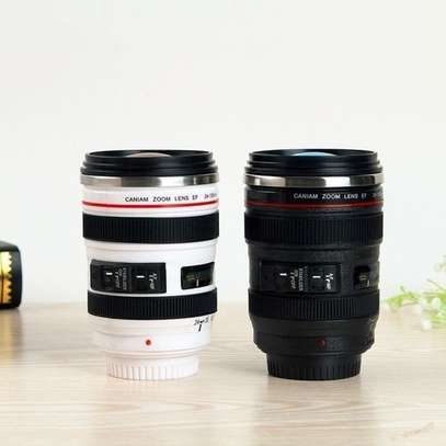 Camera Lens Shape Cup Coffee Tea Travel Mug Stainless Steel Vacuum Flasks Worldwide Store image 3