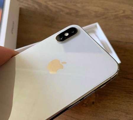 Apple iphone X silver 256gb image 3