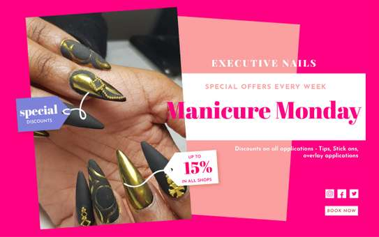 Executive Nails Offer