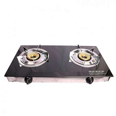 2 Burner - Glass top - Black LYONS