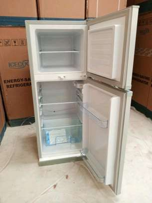 ICECOOL 118 LITRES DOUBLE DOOR DIRECT COOL FRIDGE -BCD118 image 4
