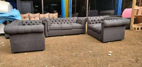 Six seater Chesterfield image 1