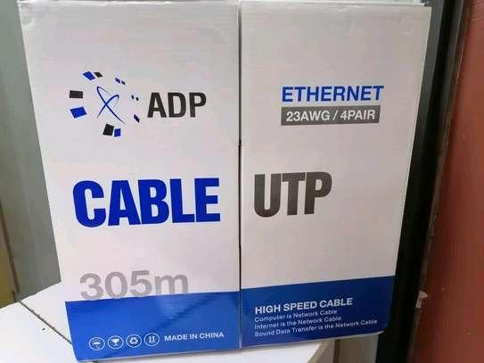 Utp cat 6 cable 305m image 1