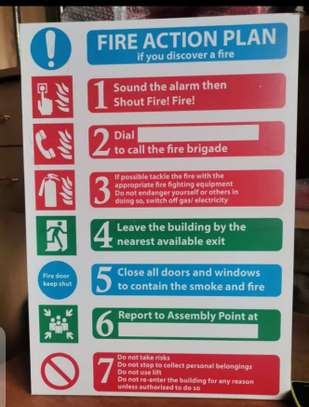 Fire Action Plan. image 2