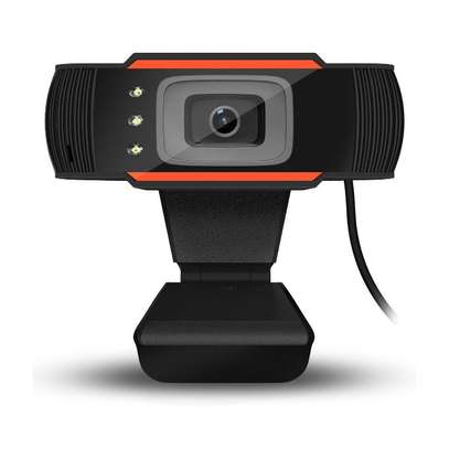 Full HD Pro Webcam Camera Built-in Microphone with MIC Clip-on for P image 1
