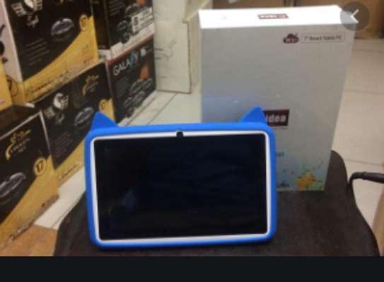 blue kids tablet image 1