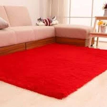 Sleek Fluffy Carpet image 1