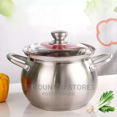 Stainless Steel Thickened Soup Pot image 1
