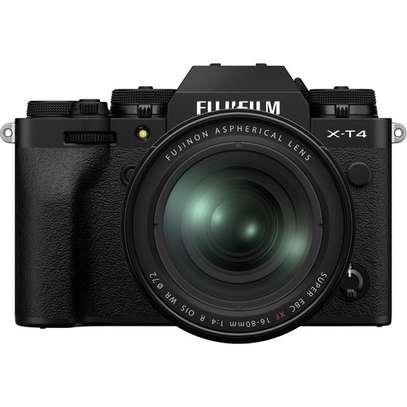 FUJIFILM X-T4 Mirrorless Digital Camera with 16-80mm Lens (Black) image 1