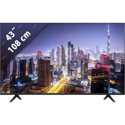 "Hisense 43A7100F 43"" 4K Framless HDR Ultra UHD Smart TV Model 2020-Ramadan sale image 1"