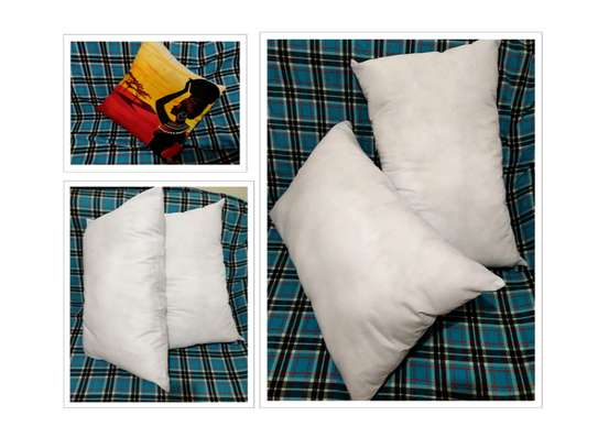 Fibre filled pillows image 2