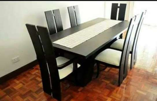 7 Piece Dining Table Set image 1