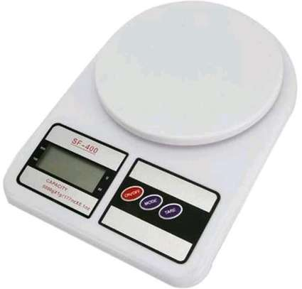 Kitchen weighing scale