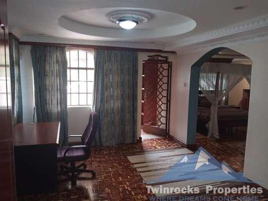 Furnished 3 bedroom house for rent in Karen image 17
