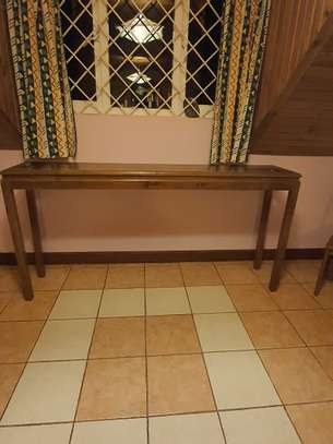 Wood Console table image 1