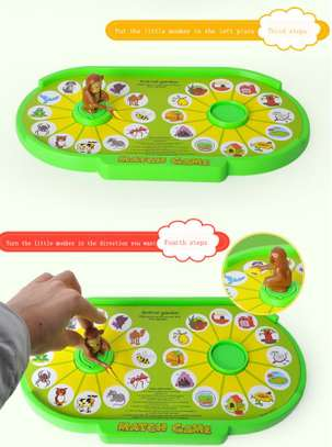 Kids Children Educational Monkey Match Game Toy image 5