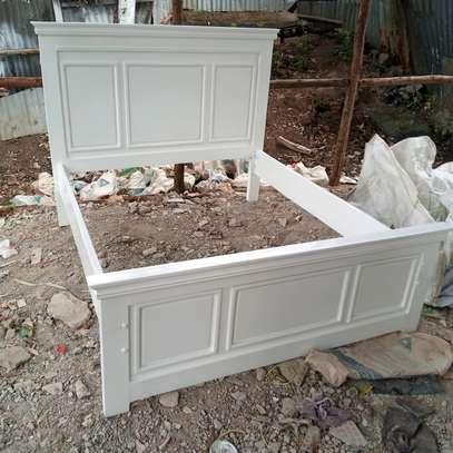 5*6 mahogany bed image 1