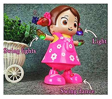Dancing Girl Musical Fun Toy with Flash Light image 2