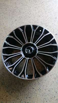 Size 20 rims for Mercedes Benz image 1