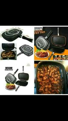 double-sided grill pan image 1